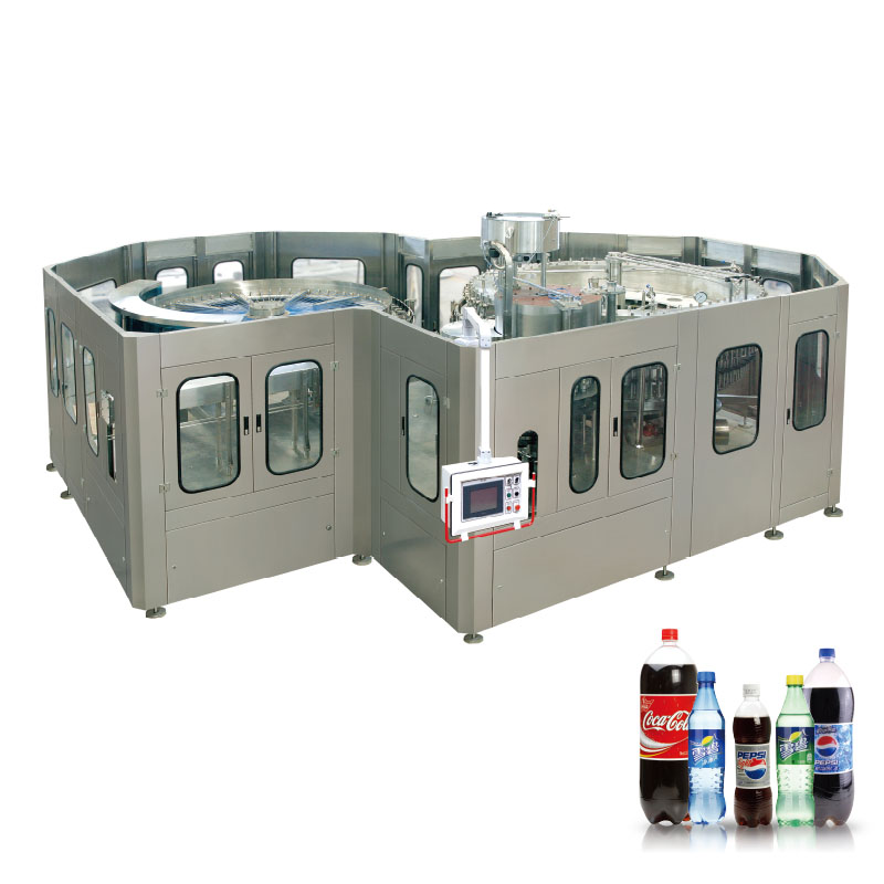 DCGF Carbonated Soft Drink filling machine