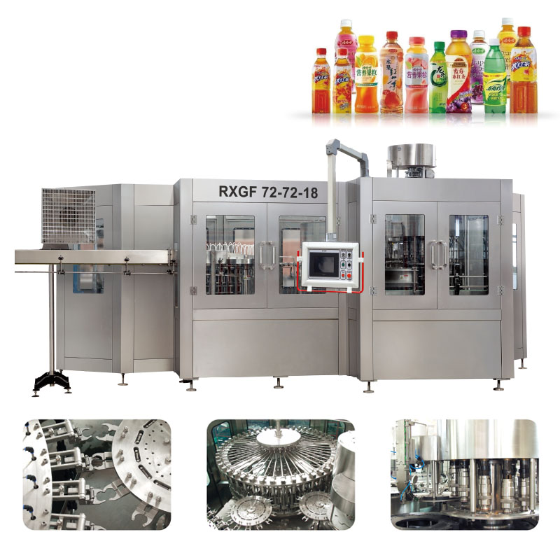 RCGF Automatic Hot Juice filling machine