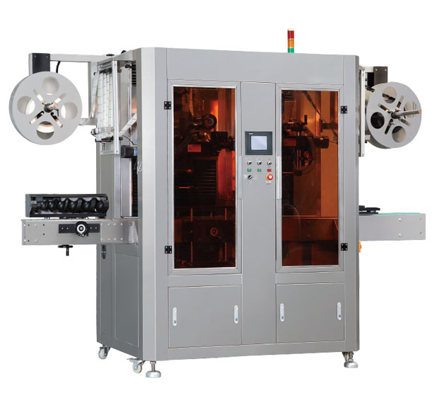 SL-Series Automatic Double Heads Shrink Labeling Machine
